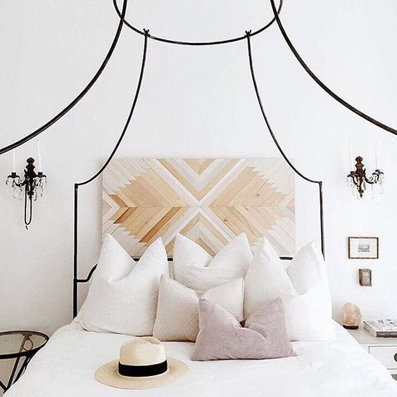 Modern Bohemian Bedroom Inspiration - Dwell Beautiful on Modern Boho Bed Frame  id=19628