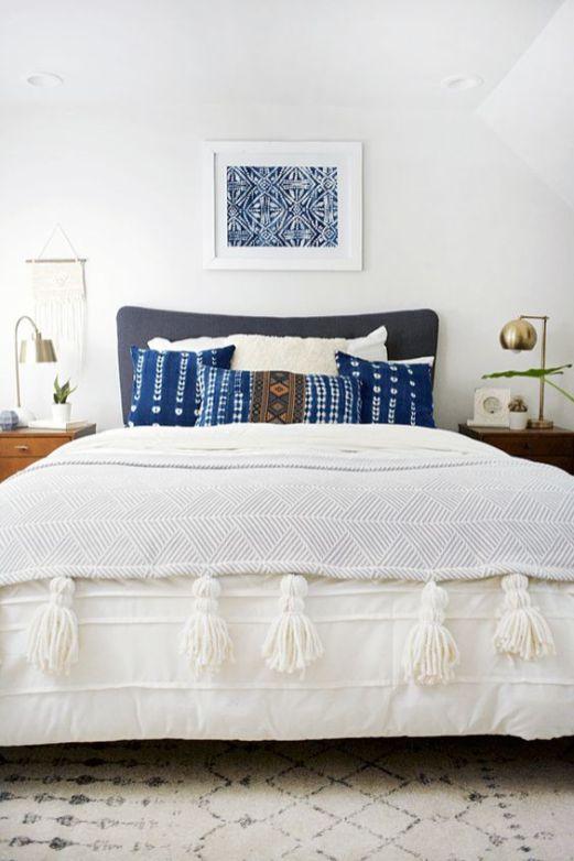 Modern Bohemian Bedroom Inspiration - Dwell Beautiful on Modern Boho Bedroom  id=59921