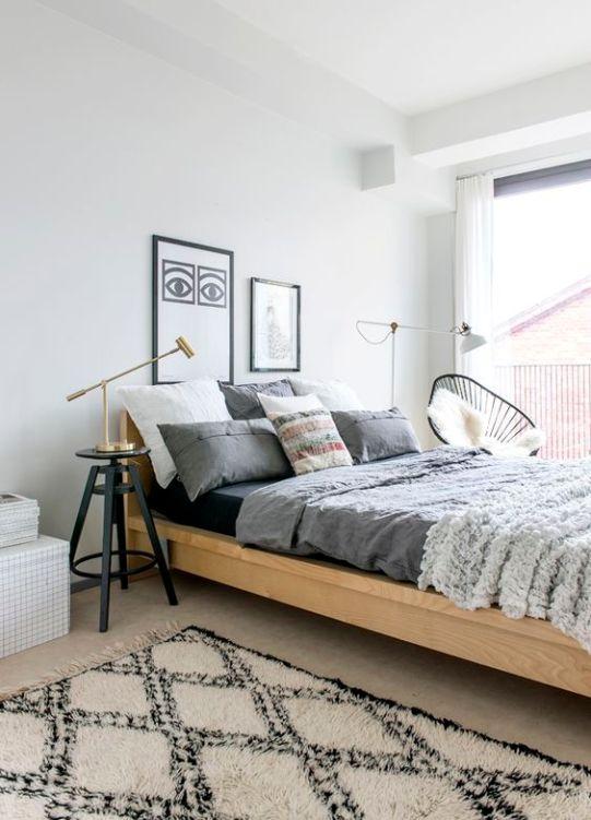 Modern Bohemian Bedroom Inspiration - Dwell Beautiful on Boho Modern Bedroom  id=59655