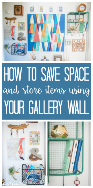 How to Save Space by Using a Gallery Wall