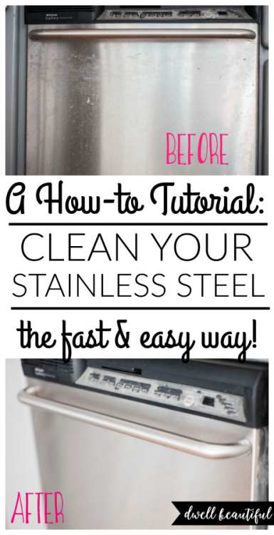 how to clean your stainless steel the fast and easy way