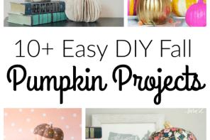 easy diy fall pumpkin projects