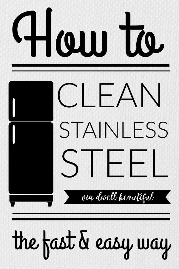 How to Clean Stainless Steel the Fast and Easy Way!