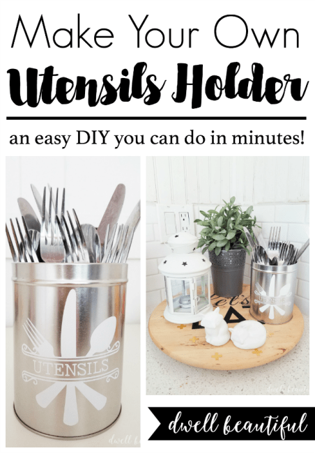 DIY Utensils Holder