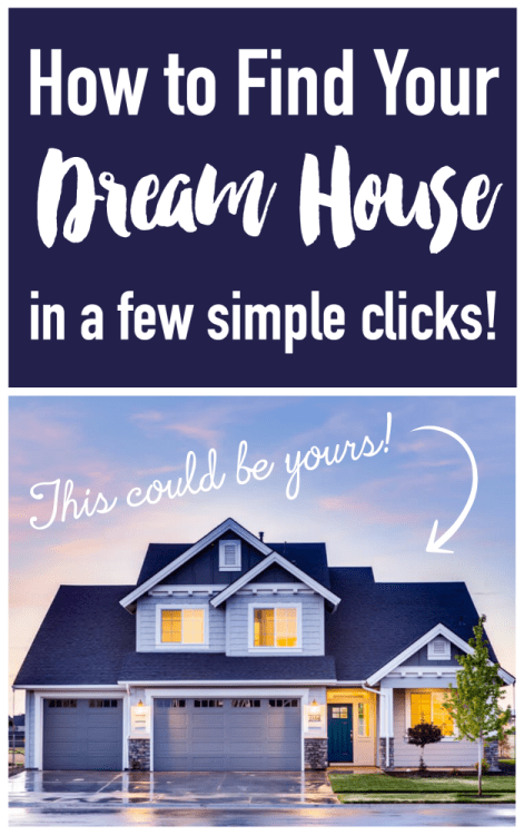 How to find your dream house in a few simple clicks for Dream house finder