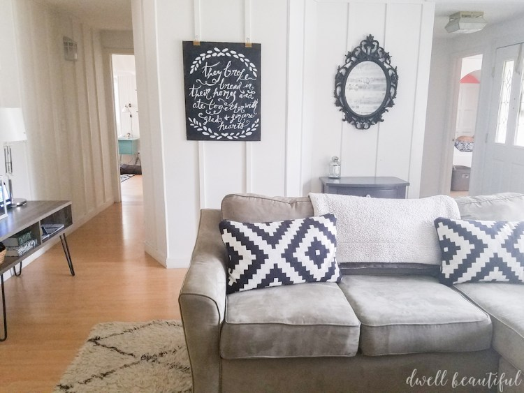 Large DIY Chalkboard Wall Art