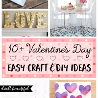 10+ Easy Valentine's Day DIY Craft Ideas for Adults