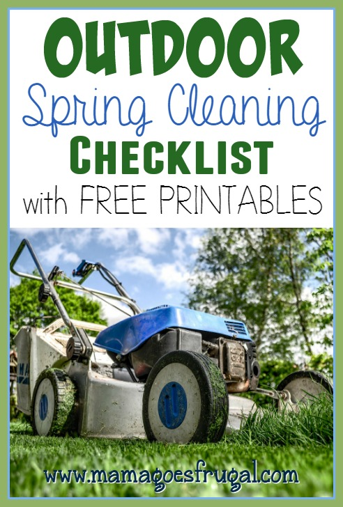 Helpful Spring Cleaning and Organization Printables
