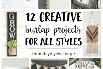 12 Creative Burlap Projects for All Styles