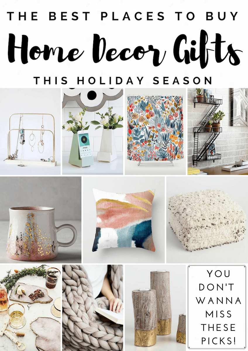 Home Decor Gift Guide Best Places To Shop For Home Decor Gifts And