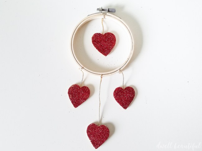 Valentine's Day Mini Heart Wreath