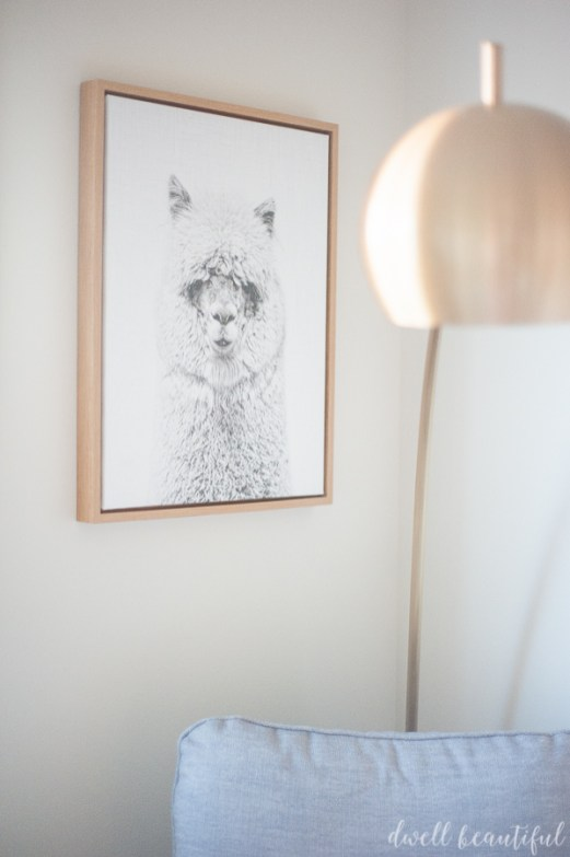 Cactus And Llama Baby Girl Nursery Reveal Dwell Beautiful