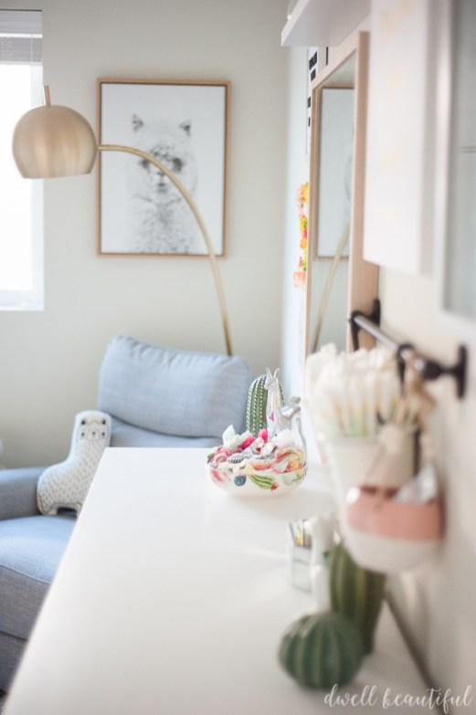 Cactus And Llama Baby Girl Nursery Reveal Dwell Beautiful
