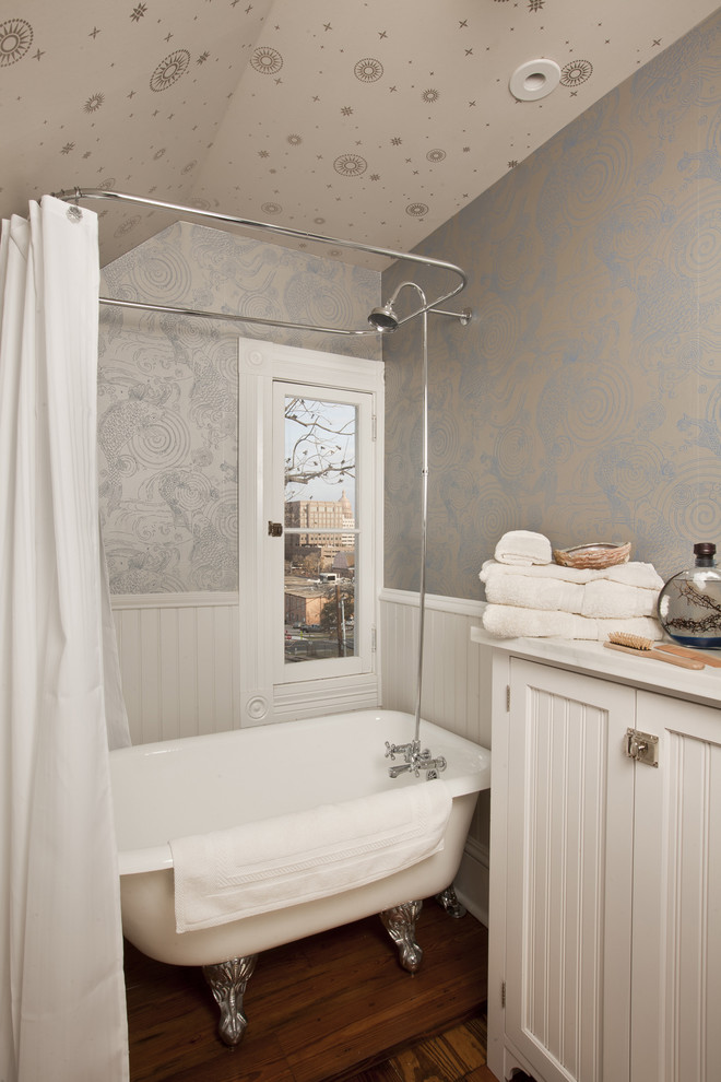 Marvelous-Claw-Foot-Tub-trend-Other-Metro-Traditional-Bathroom-Remodeling-ideas-with-antique-bathroom-storage-beadboard-cabinet-Cabinetry-casement-windows-claw-foot-claw-foot-tub-cottage