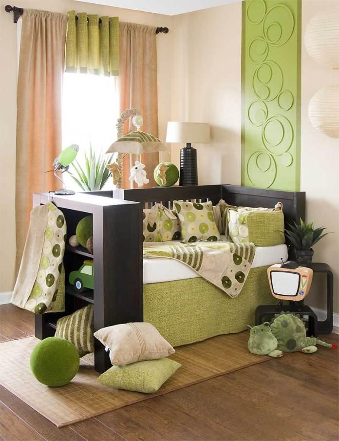 green-crib