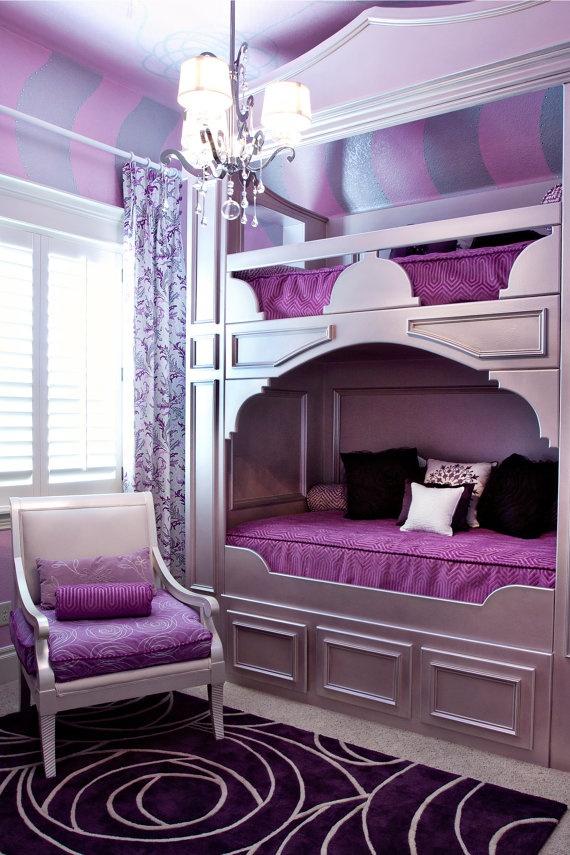 teenage-girl-bedroom-ideas-bunk-beds