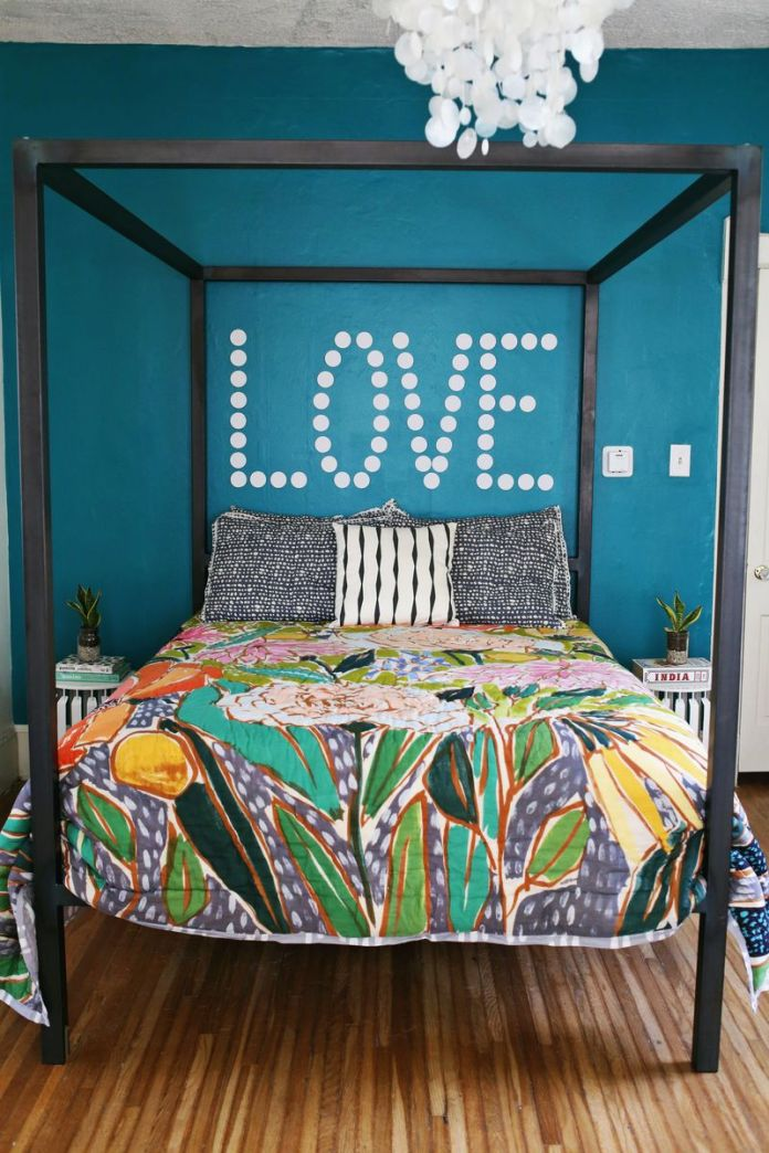 A Bright Bedroom Update