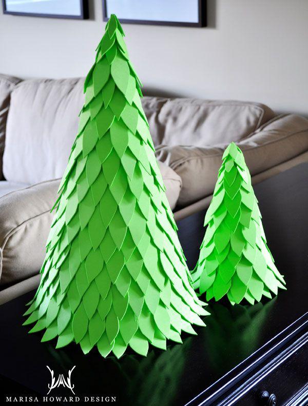 Easy Foam Christmas Tree