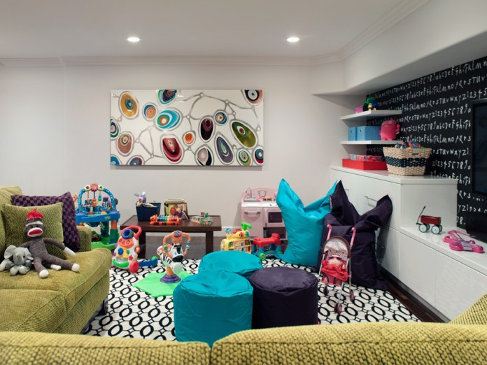 Flokati Bean Bag Decorating Ideas