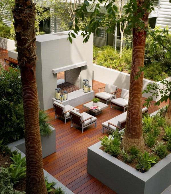 25 Amazing Modern Patio Design Ideas on Backyard Deck Decor  id=21311