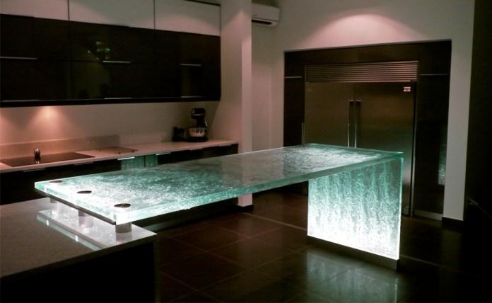 Wonderful-simple-kitchen-dark-brown-with-ordinary-kitchen-island