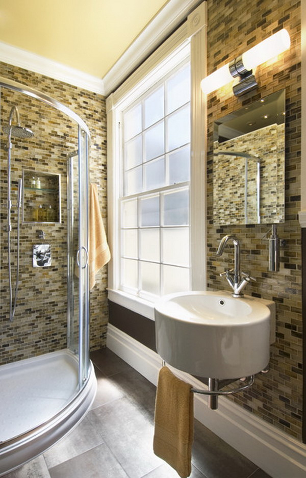 25 Small But Luxury Bathroom Design Ideas on Model Bathroom Ideas  id=43698