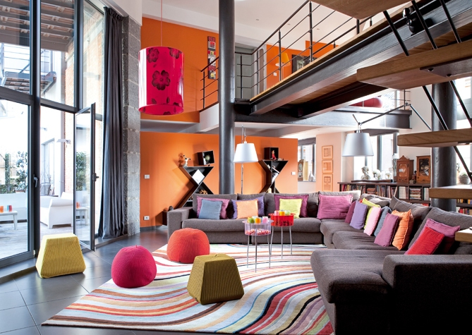 colorful-loft-in-Belgium-modern-interior-design