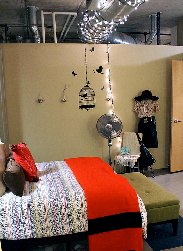 industrial-bedroom-with-nice-and-beautiful-sparkling-stars