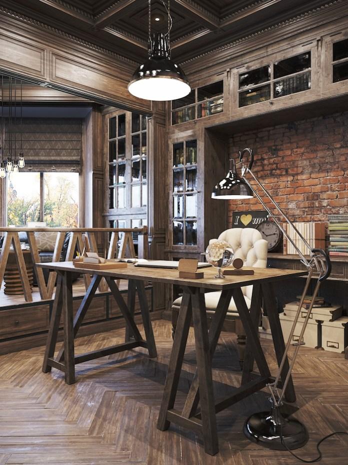 rustic-office-design-denis-krasikov