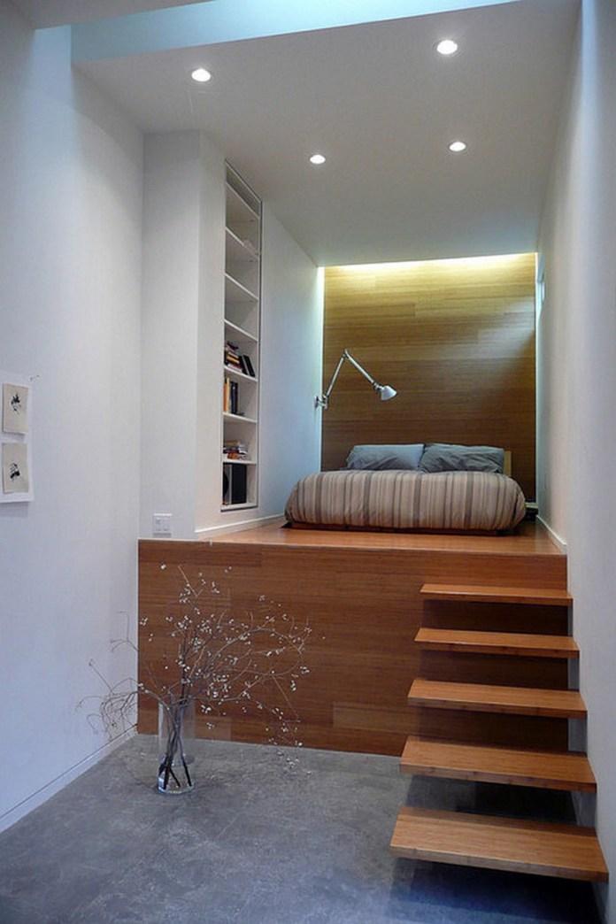 small-loft-master-bedroom-design-with-wooden-platform-bed