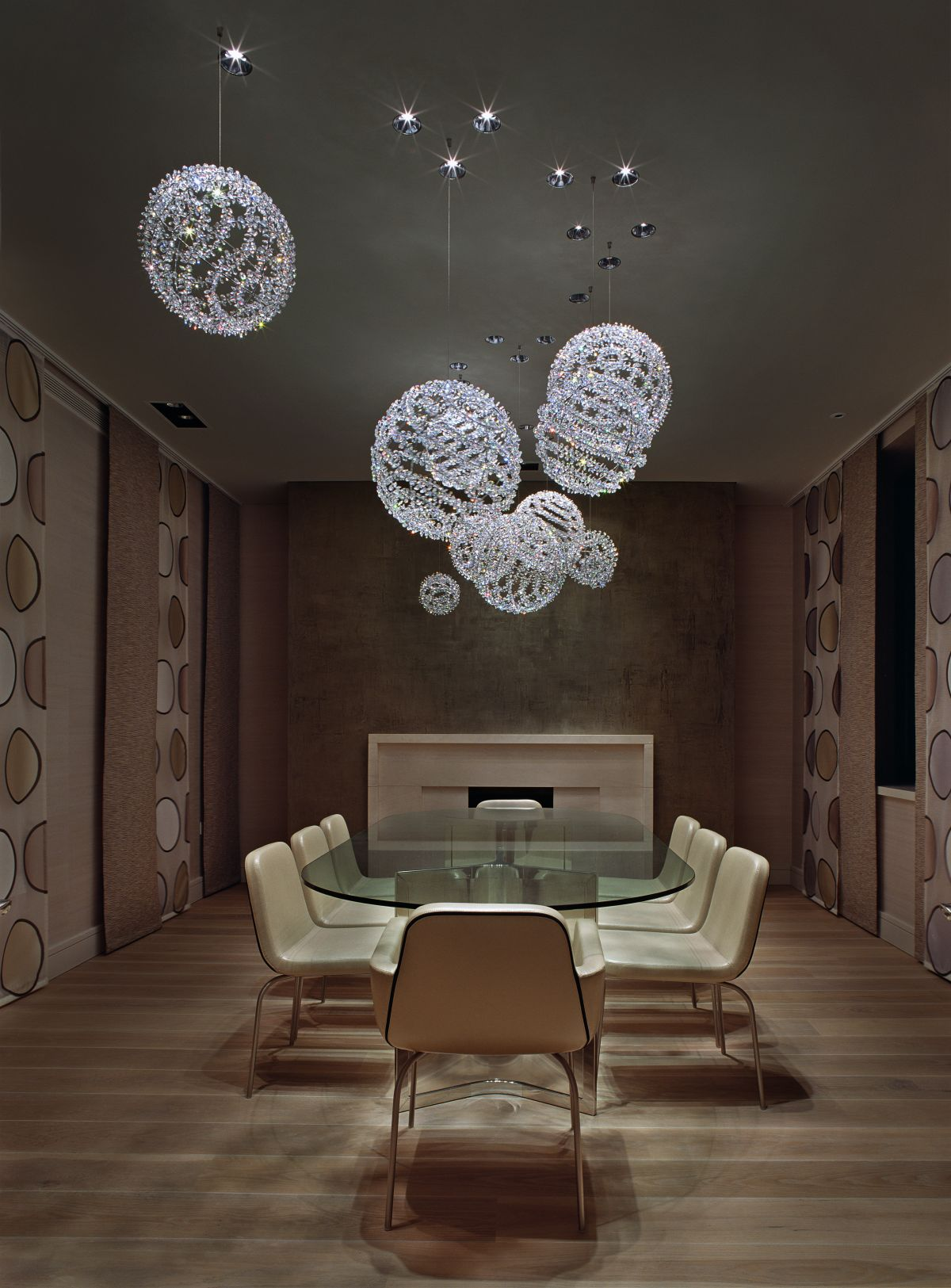 30 Amazing Crystal Chandeliers Ideas For Your Home on Dining Table Ceiling Design  id=54039