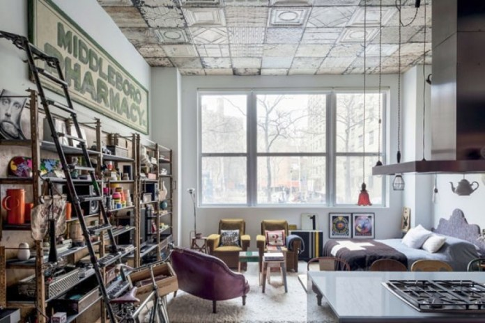 Bachelor pad in New York