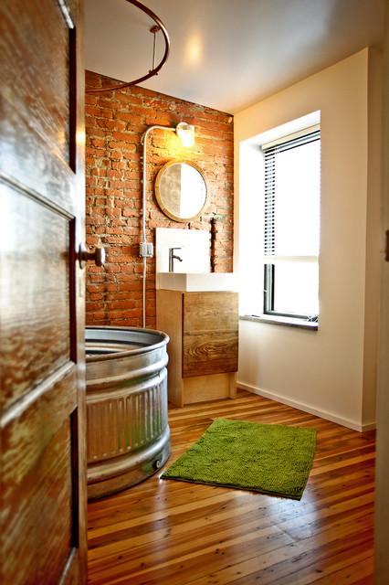 Cumberland Street Eclectic Bathroom