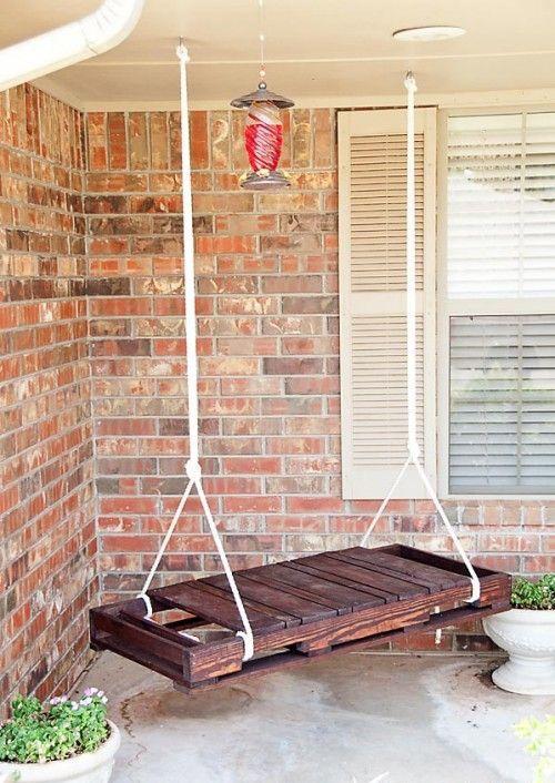 DIY Garden Swing