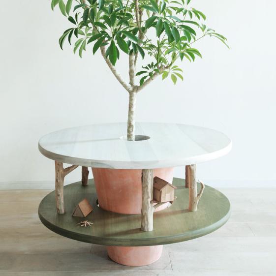 En-gi green furniture by mono goen