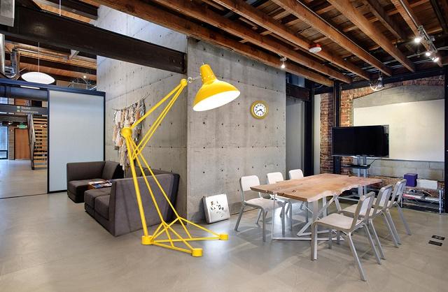 Giant Colorful Loft Studio Bachelor Pad