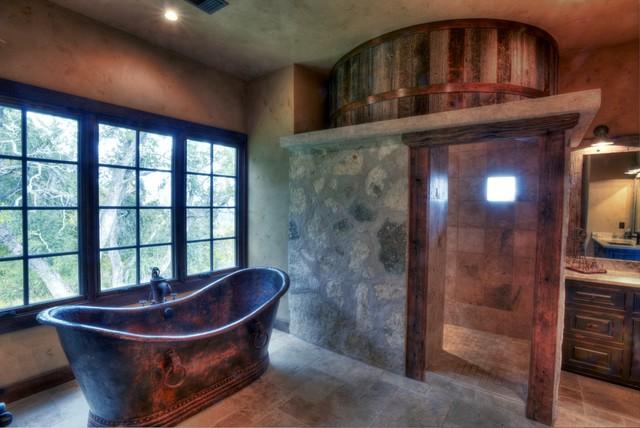 Hand Hammered Copper Bathtub