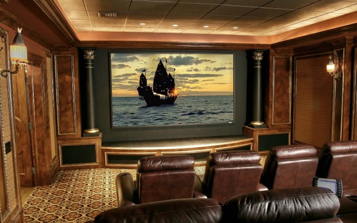 Modern-Decoration-of-Home-Theatre