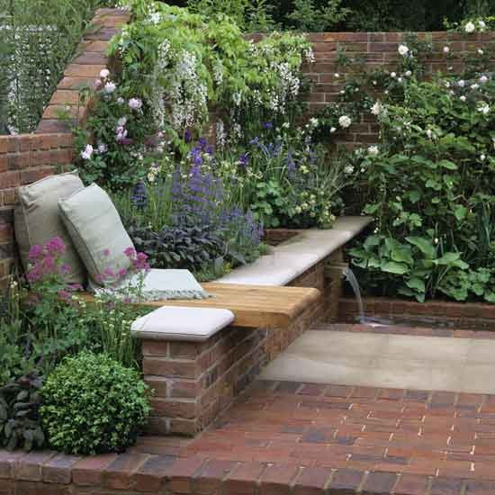 25 Peaceful Small Garden Landscape Design Ideas on Small Garden Sitting Area Ideas  id=33056