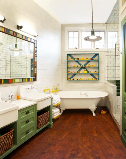 Whimsical Eclectic Bathroom