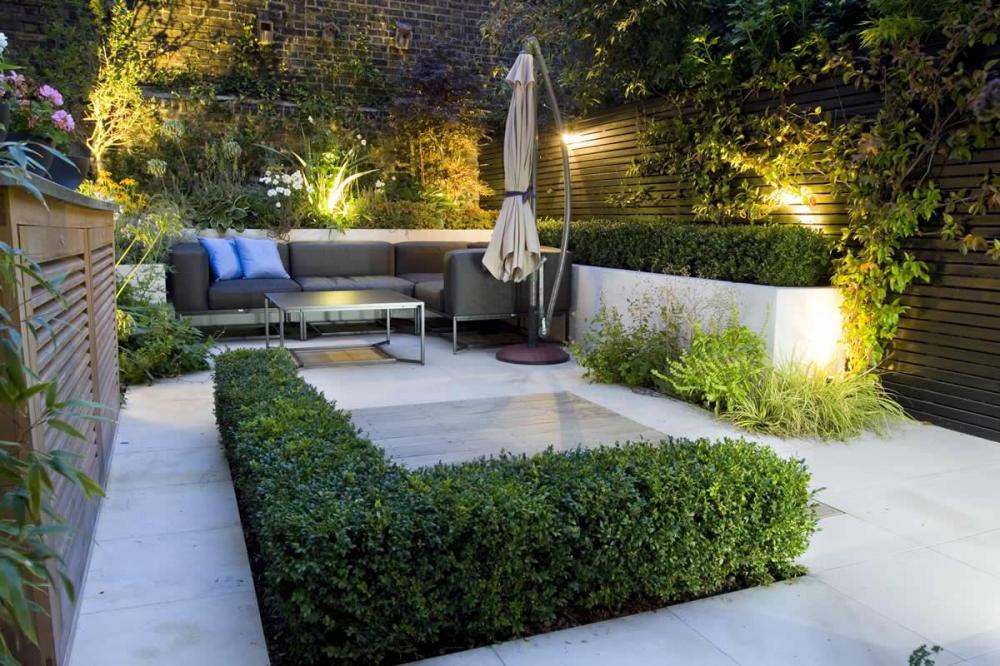25 Peaceful Small Garden Landscape Design Ideas on Modern Backyard Patio Ideas  id=38848