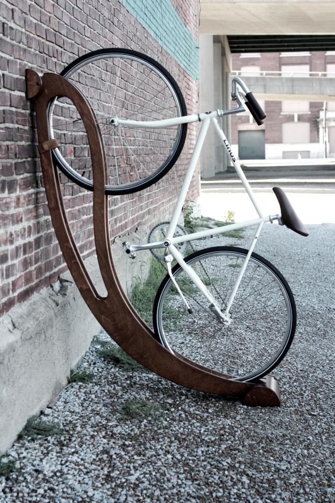 efficient bike storage rack