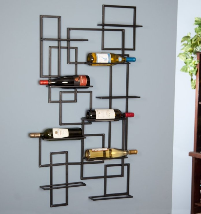 gorgeous-wine-rack-for-wall-with-creative-shapes-design-ideas-you-should-try