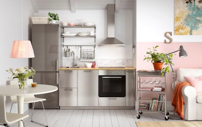 ikea Modern stainless kitchen