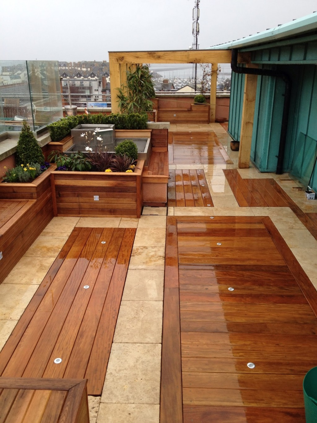 25 Beautiful Rooftop Garden Designs To Get Inspired. on Wooded Backyard Ideas id=73346