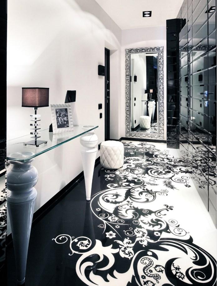 3-Black-white-dining-room