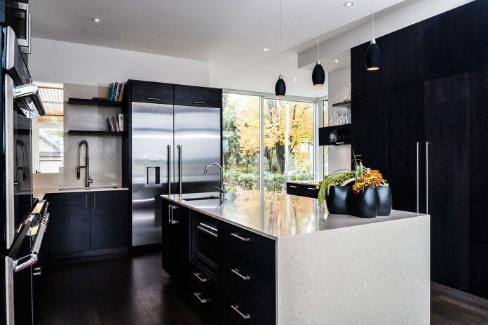 Amazing Black And White Kitchen Design Ideas With Modern Interior Design