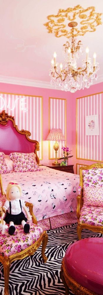 Bedroom Decorating Ideas pink