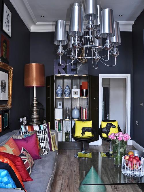 Contemporary Apartment living area