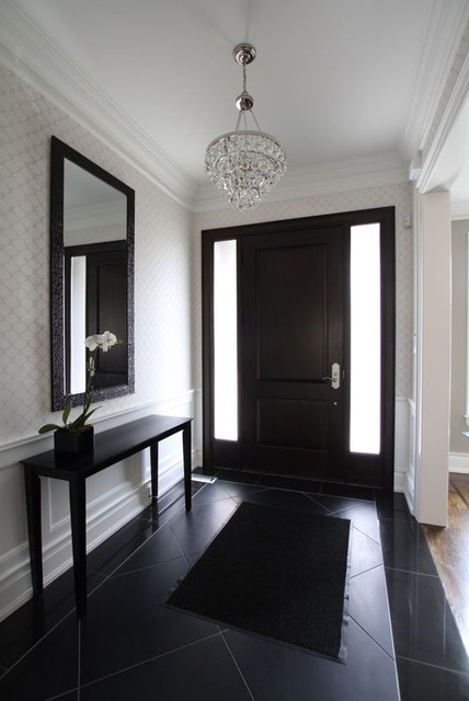 Contemporary-entry-chandelier